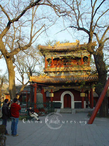 Also called Yonghegong Lamasery, the Lama Temple was a palatial residence built in 1694 by Qing Emperor Kangxi for his son Yongzheng.