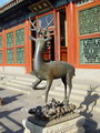Bronze deer, Summer Palace, Beijing