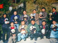 This picture shows the achievement of Wolong Nature Reserve - in the year of 2,000, the survival rate of baby pandas reached 90%.