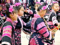 Flowery minority children, Guizhou