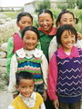 Delighted kids, Tibet