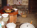 Typical kitchen in China's rural area