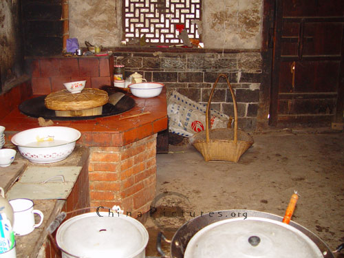 Typical Kitchen In China'S Rural Area - China Pictures