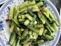 Cucumber with Chilli and Garlic