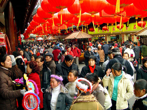 chinese new year holiday every place overflow with the new years atmosphere - Chinese New Year Holiday