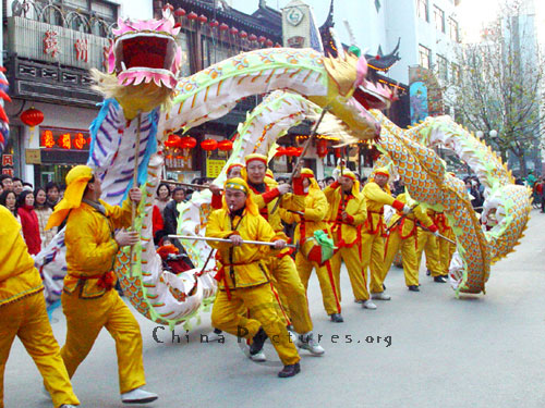Chinese New Year is the time of special celebration and joy.
