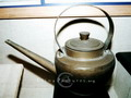Copper teakettle