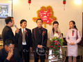 The traditional ceremony of Chinese wedding