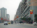 Seeing the neat scene in a street corner of Chongqing, you will feel how comfortable the residents' life is.
