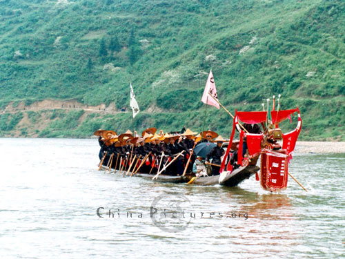 Dragon boat races are held to the sounds of thunderous drumbeats.
