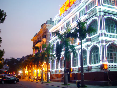 Western style buildings in Guangzhou