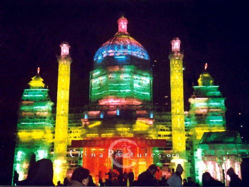 Annual Ice Lantern and Snow Sculpture Exhibition in Zhaolin Park