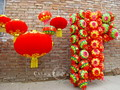 Traditional Chinese red lanterns