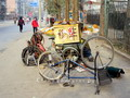 Bicycle repair, Beijing