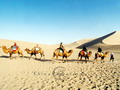 Ships of the desert, Echoing-Sand Mountain, Dunhuang