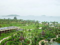 Hotel garden, Asian Dragon Bay