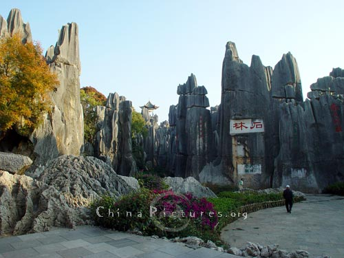 The Stone Forest is the home of Sani people.