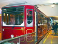 The Peak Tram is a popular means of transport in Hong Kong.