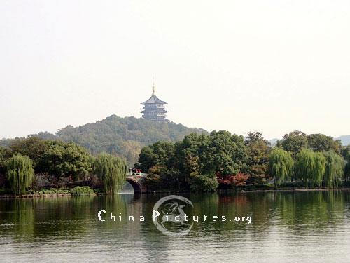 Summer Scenery Of West Lake  Hangzhou