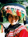 Minority woman in lijiang