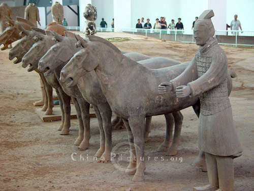 The Terra Cotta Warriors and Horses are the most significant archeological excavations of the 20th century.