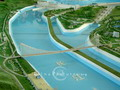 The miniature shows the panorama of Three Gorges Dam.