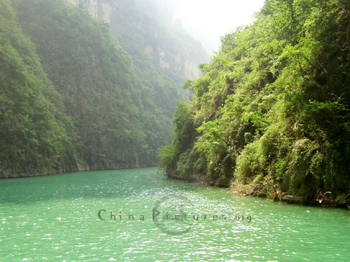 Three Little Gorges along the Daning River in Wu Gorge